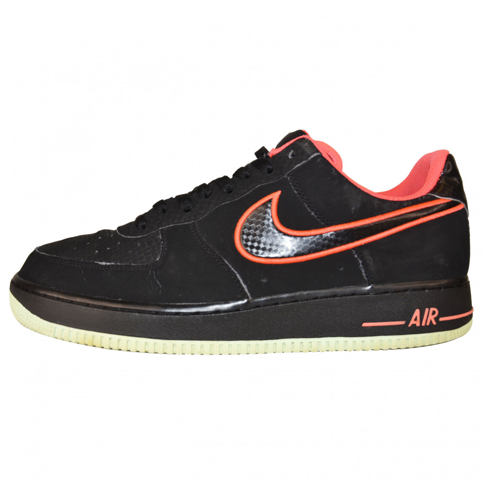 Nike Air Force 1 Yeezy (Black/Red/Mint)