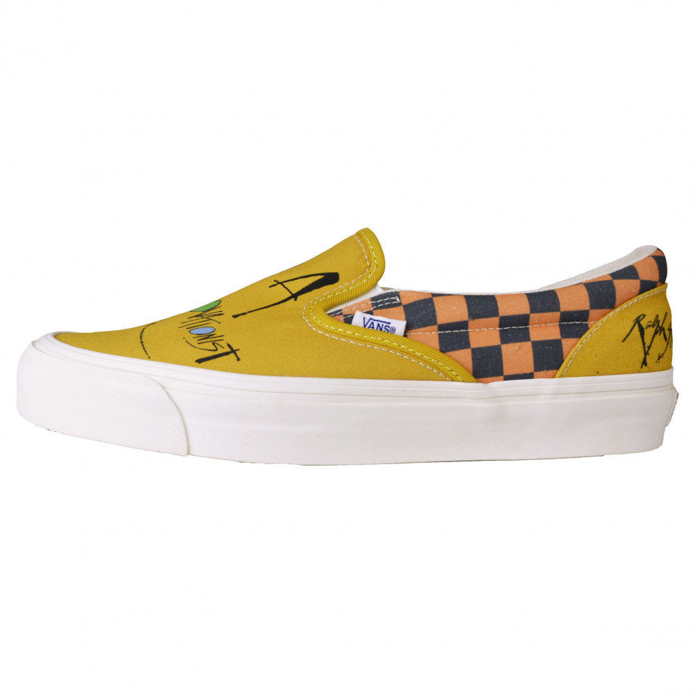 Vans Slip-On LX x Ralph Steadman Gonzovationist (Yellow)