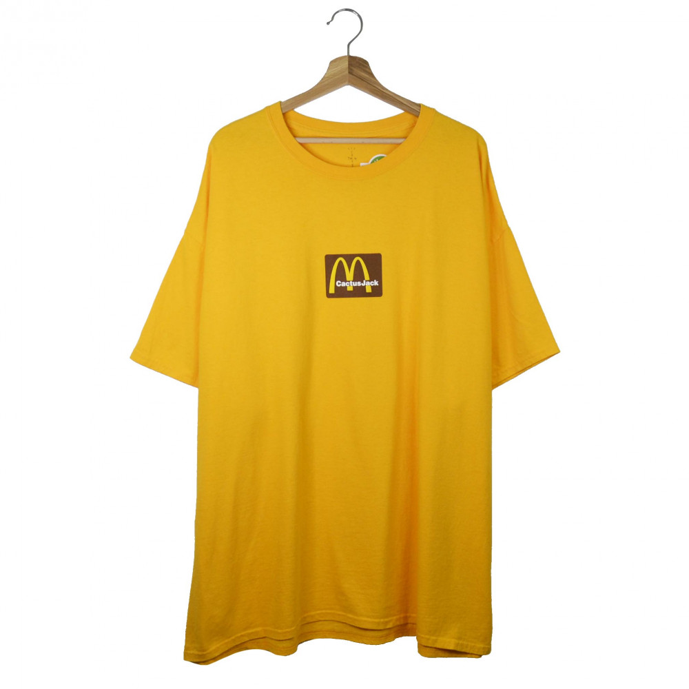Travis Scott x McDonald Sesame Tee (Yellow)