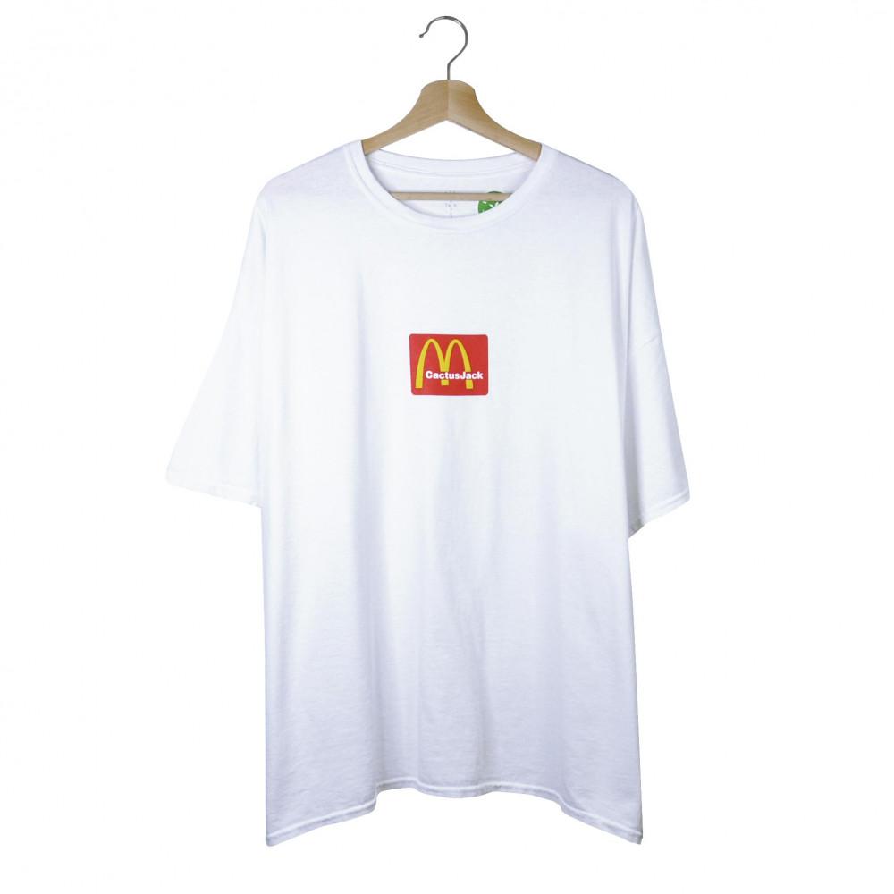 Travis Scott x McDonald Sesame Tee (White)