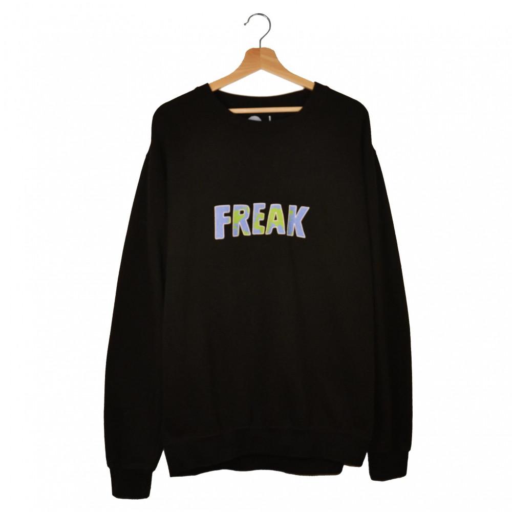 Freak Bio Terrorist Crewneck (Black)