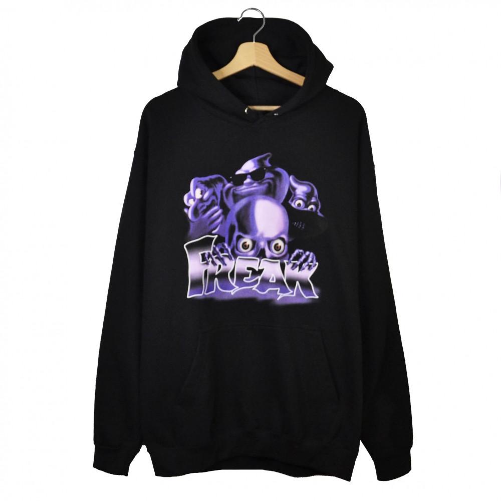 Freak Ghost Hoodie (Black)