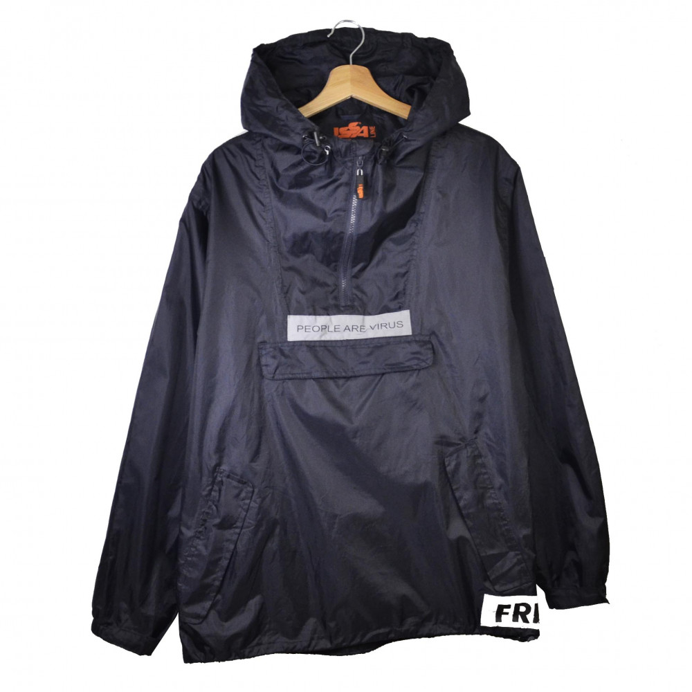 Freak People Are Virus Anorak (Black)