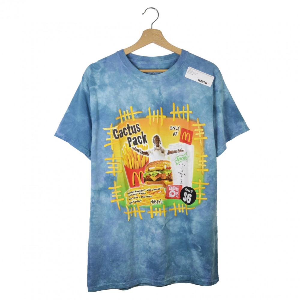 Travis Scott x McDonald Cactus Pack Tee (Blue)