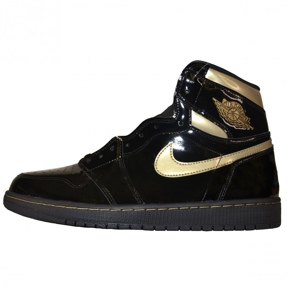 Nike AIr Jordan 1 High OG (Black/Metallic Gold)