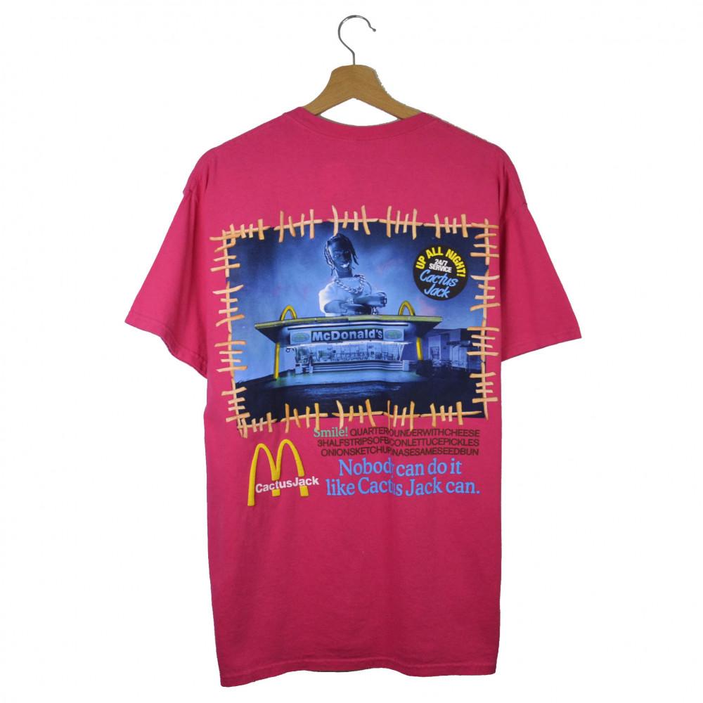 Travis Scott x McDonald Action FIgure II Tee (Pink)