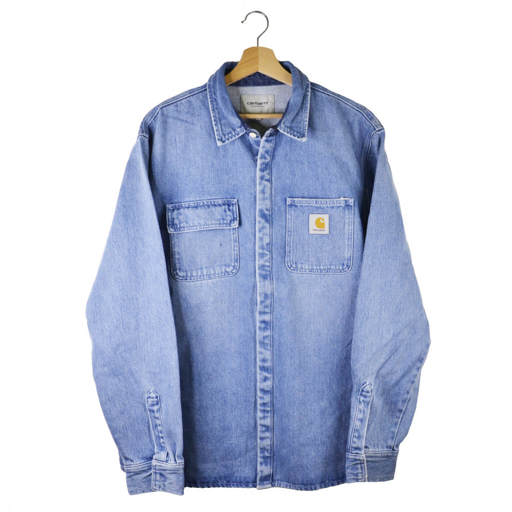 Carhartt WIP Salinac Denim Jacket (Blue)