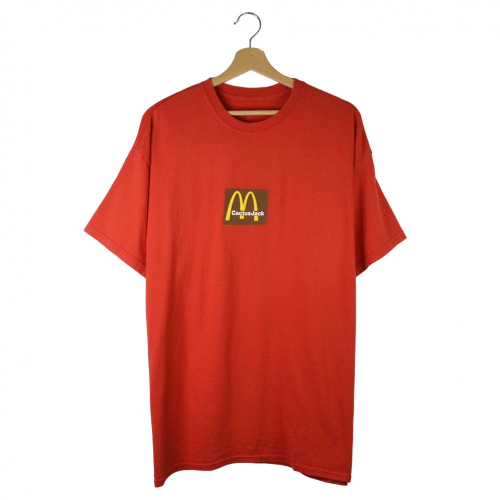 Travis Scott x McDonald Sesame Tee (Red)