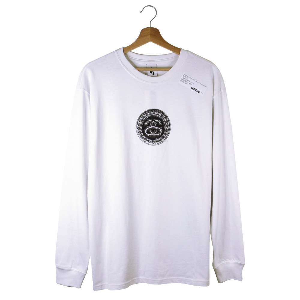 Stüssy x Nike SS Link Longsleeve (White)