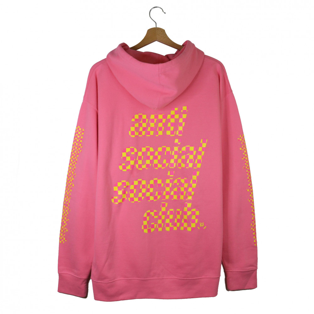 Anti Social Social Club Food Court Hoodie (Pink)