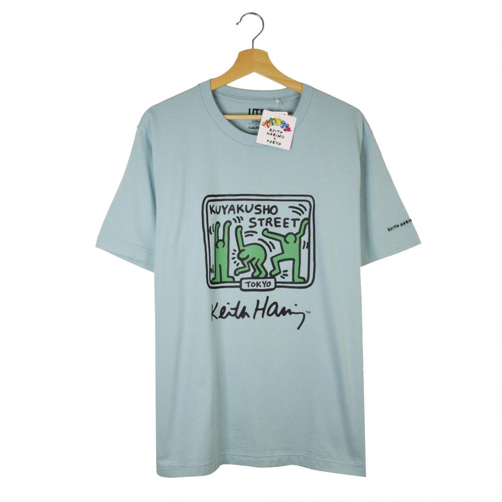 Keith Haring x Uniqlo Tokyo Kuyakusho Street Tee (Green)