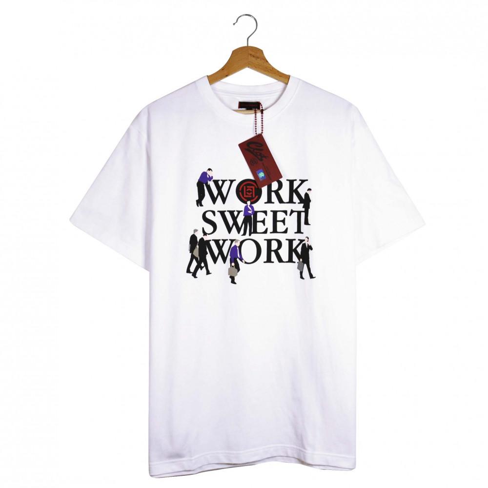 CLOT Work Sweet Work Tee (White)