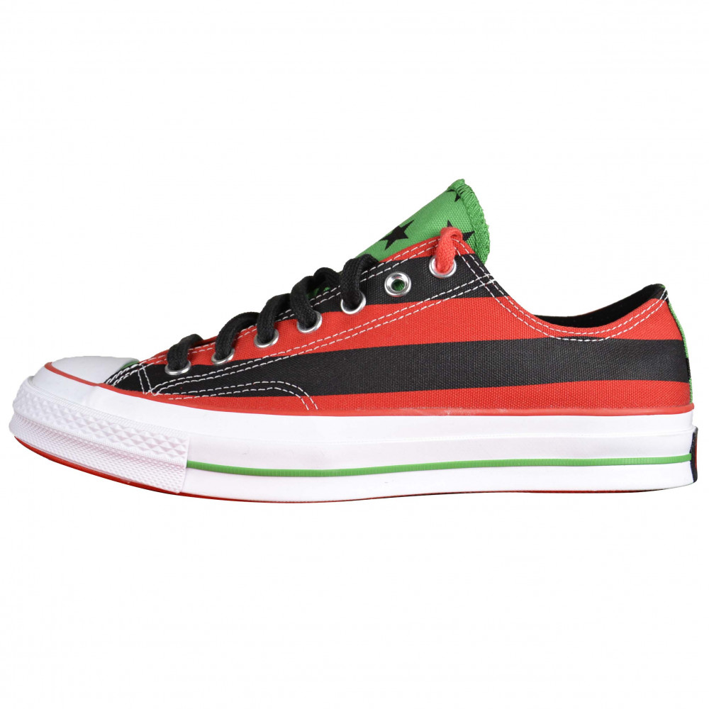 Denim Tears x Converse Chuck 70 Ox (Black/Red)