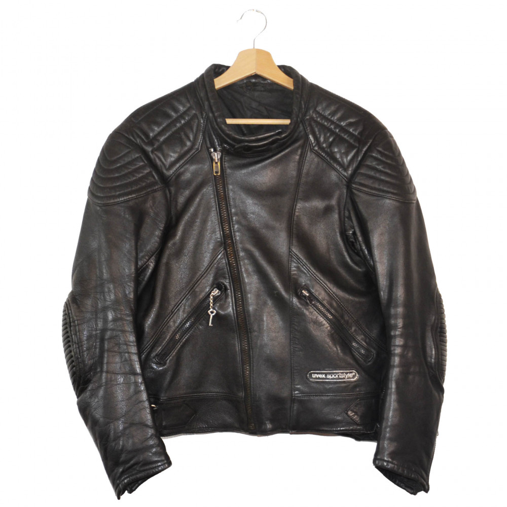 Uvex Moto Leather Jacket (Black)
