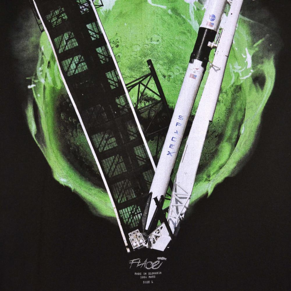 Flace Vlone Musk SpaceX Staple Tee (Black/Green)