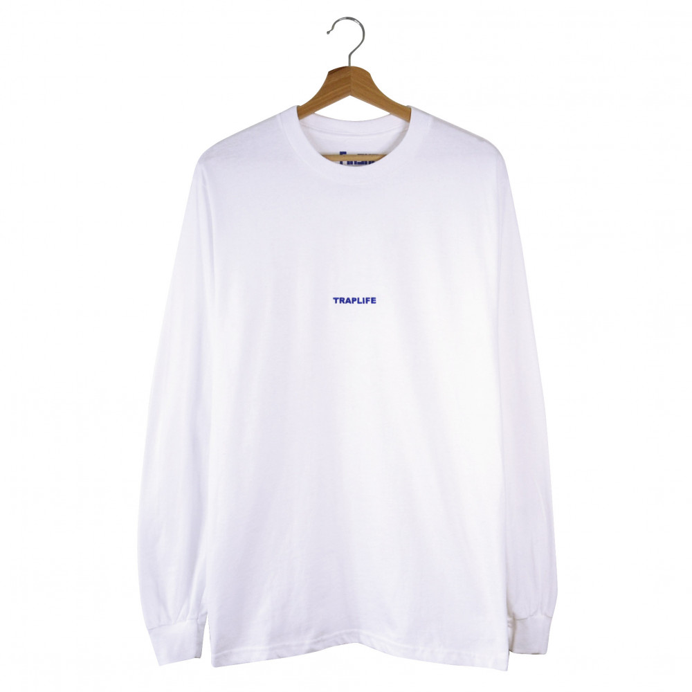 Traplife x Fínske Longsleeve (White)