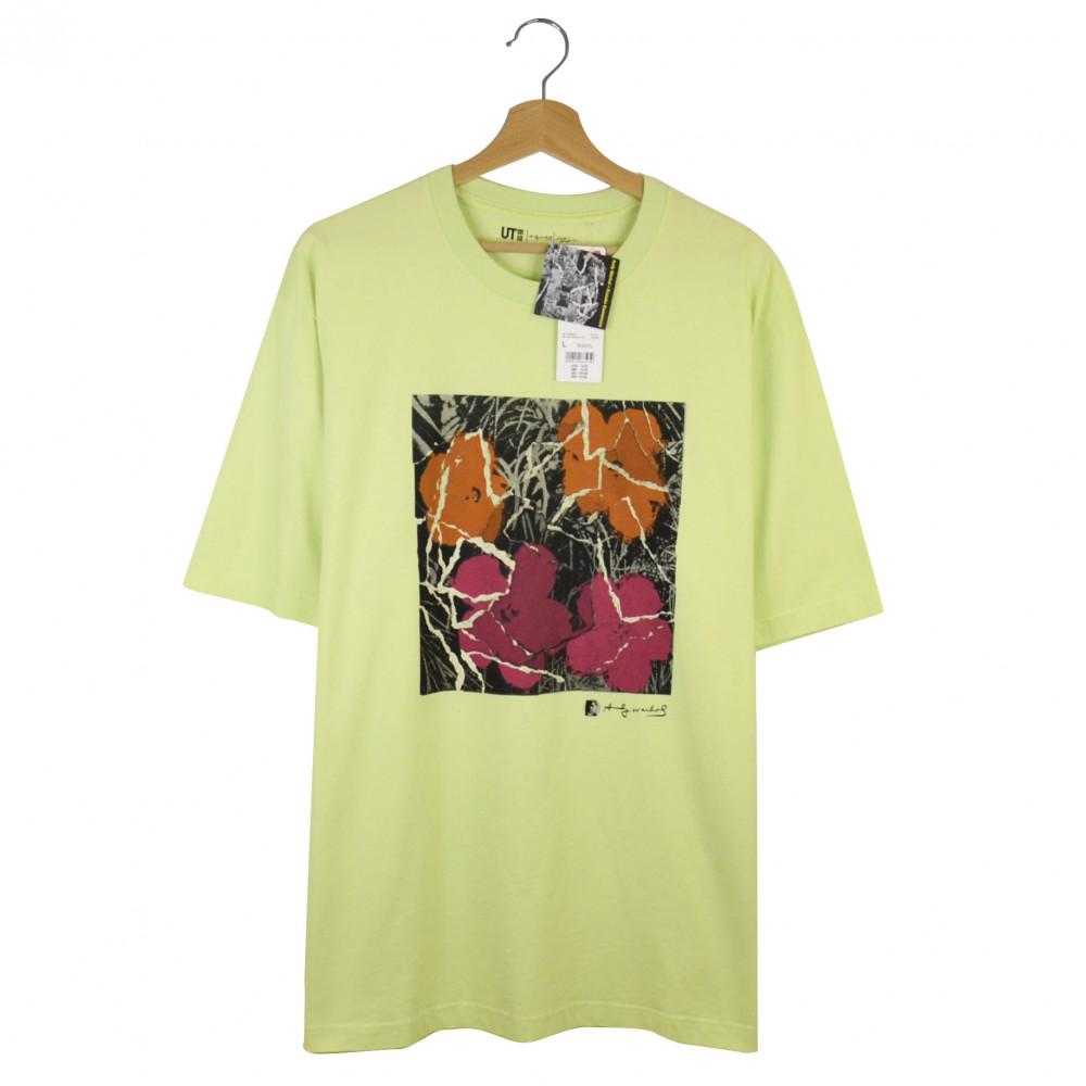 Andy Warhol x Uniqlo x Kosuke Kawamura Flowers Tee (Green)