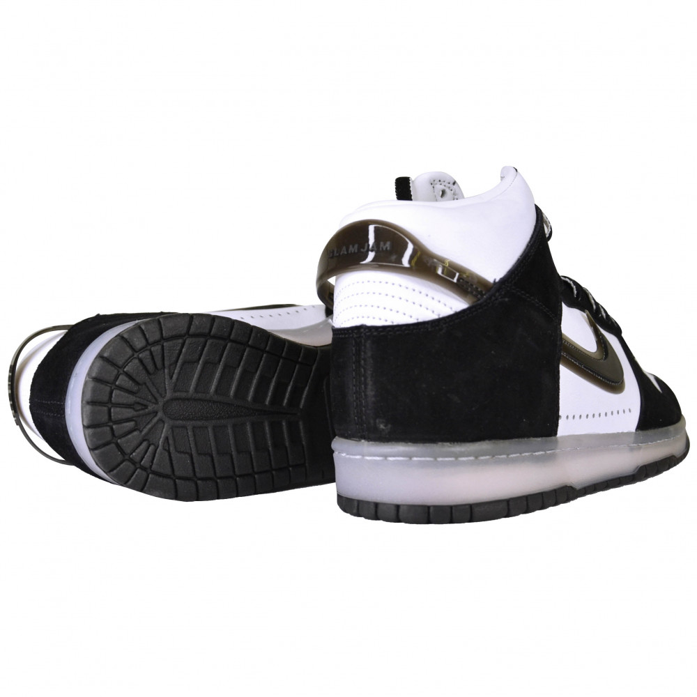Slam Jam x Nike Dunk High (Black)