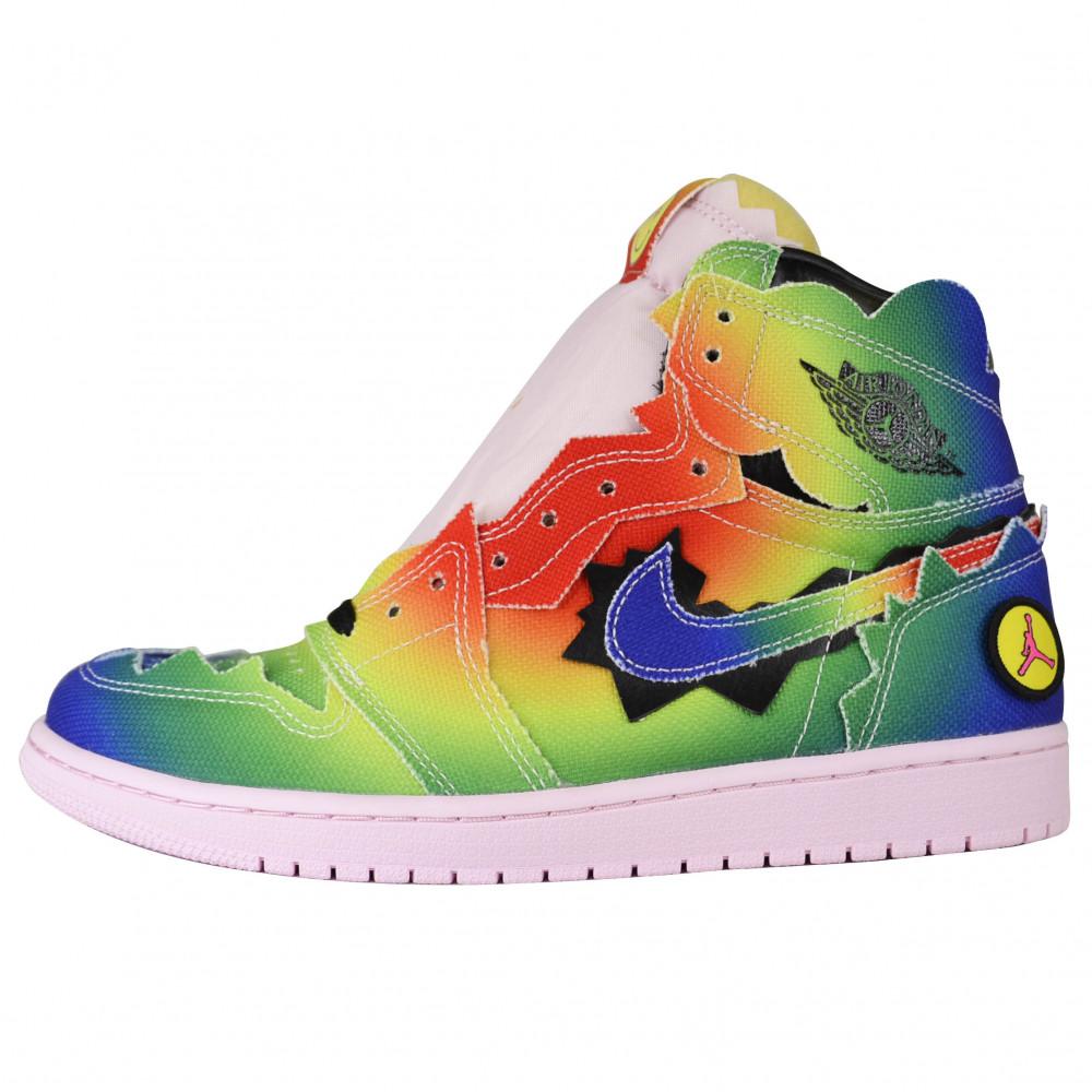 J Balvin x Nike Air Jordan 1 (Multi)