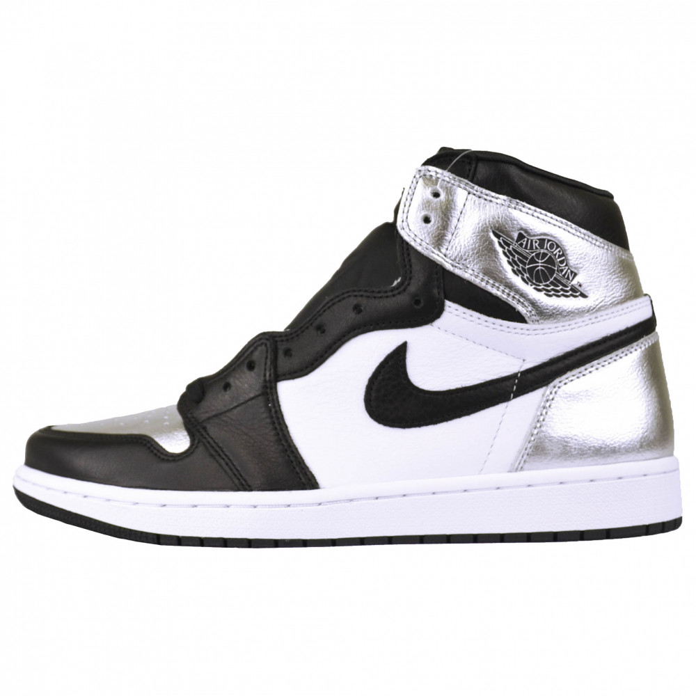 Nike Air Jordan 1 High (Silver Toe)