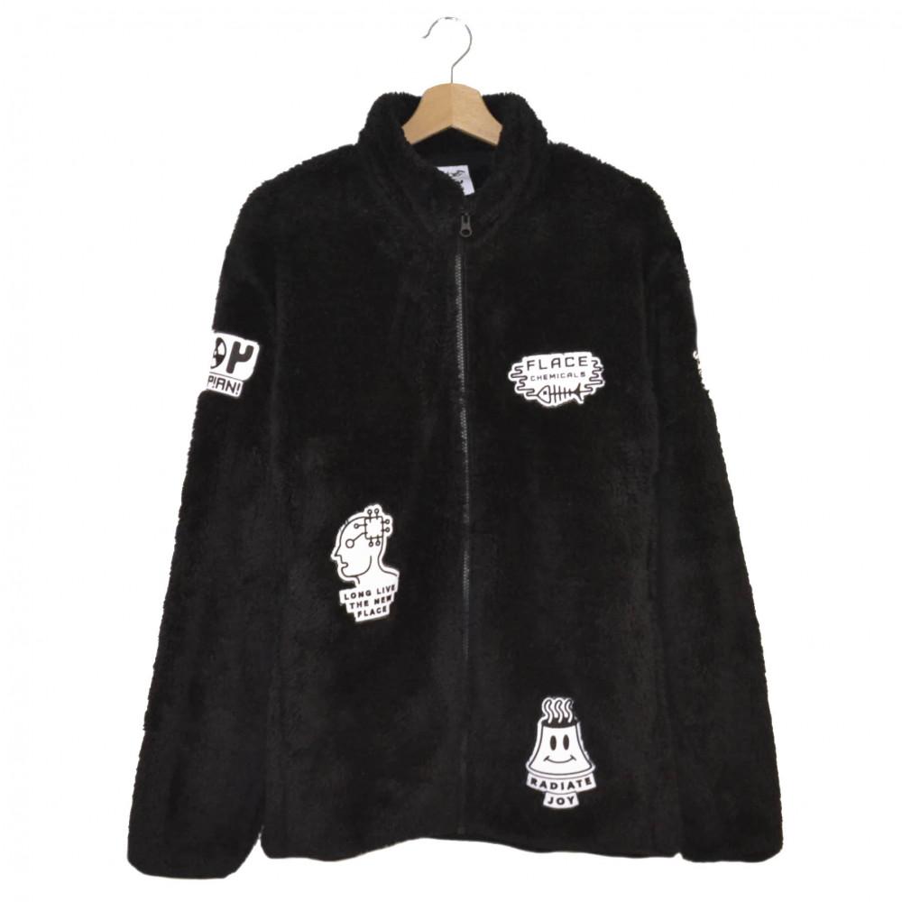 Flace x Joy Trippiani Fluffy Jacket (Black)