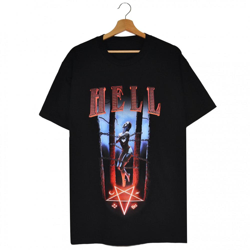 TVRNFLX x Astralkid 22 Hell Tee (Black)