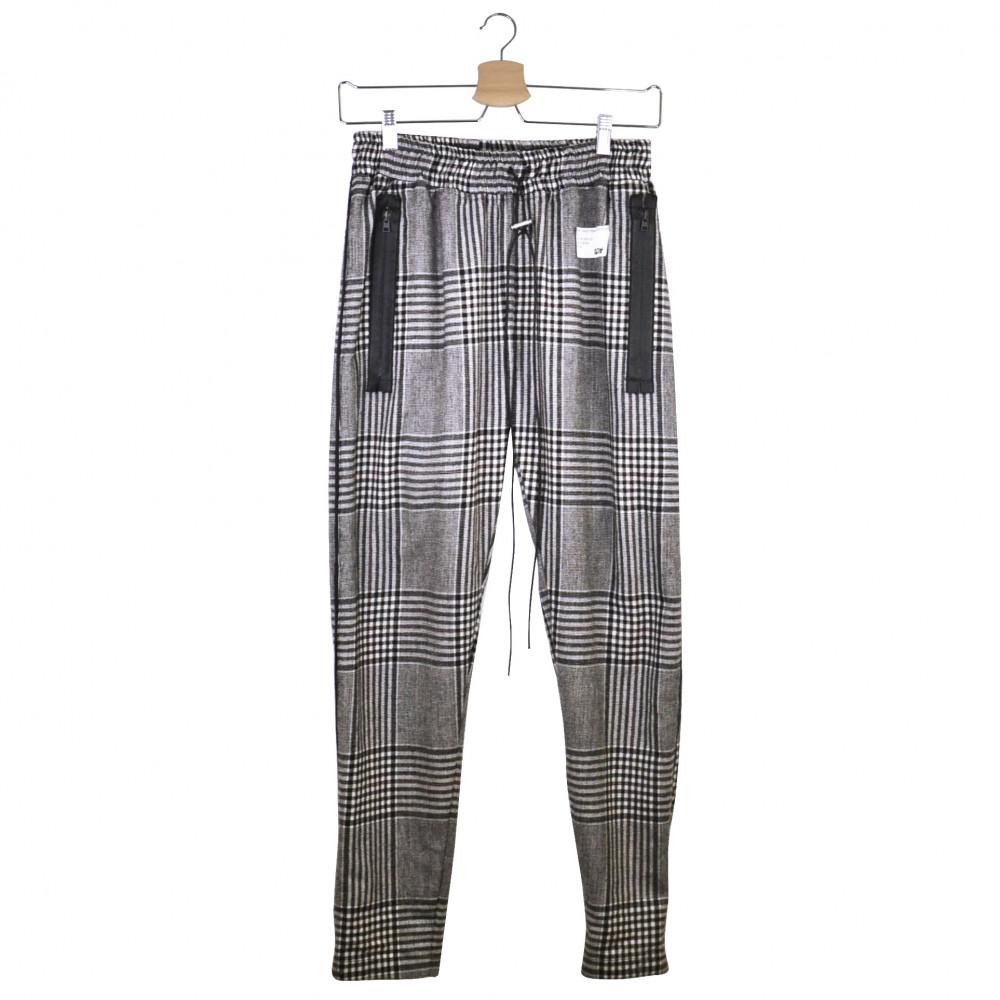 Represent Check Plaid Pants (Grey/Black)