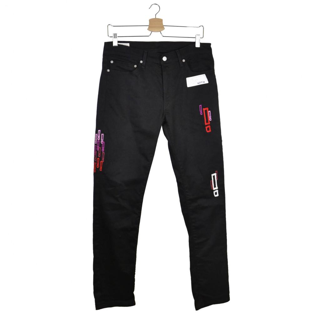 Section x Levis 505 Jeans (Black)