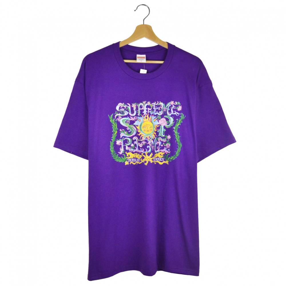 Supreme Crest Tee (Purple)