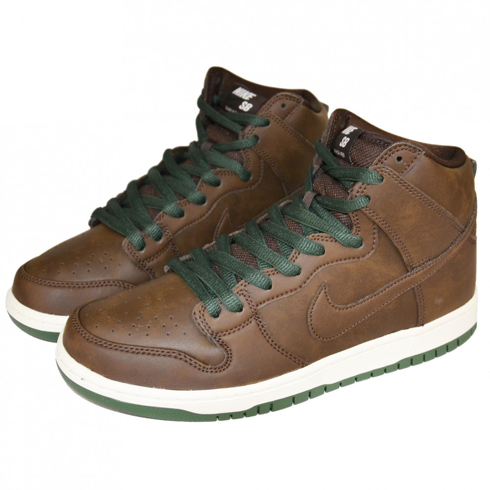 Nike SB Dunk High Pro Vegan (Baroque Brown)