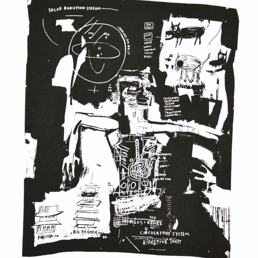 Jean-Michel Basquiat x Uniqlo x Kashiwa Sato Pagoda Tee (White)