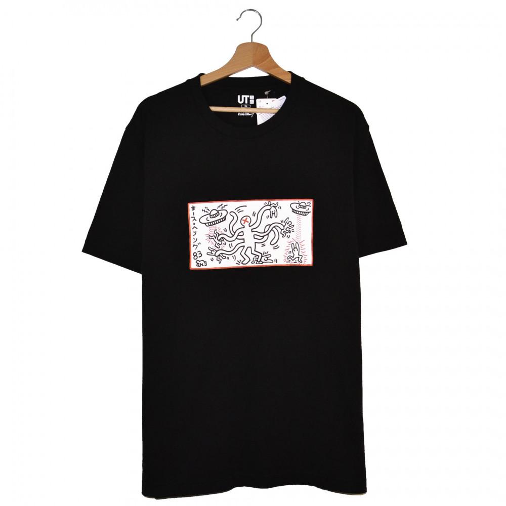 Keith Haring x Uniqlo Tokyo Martians Tee (Black)