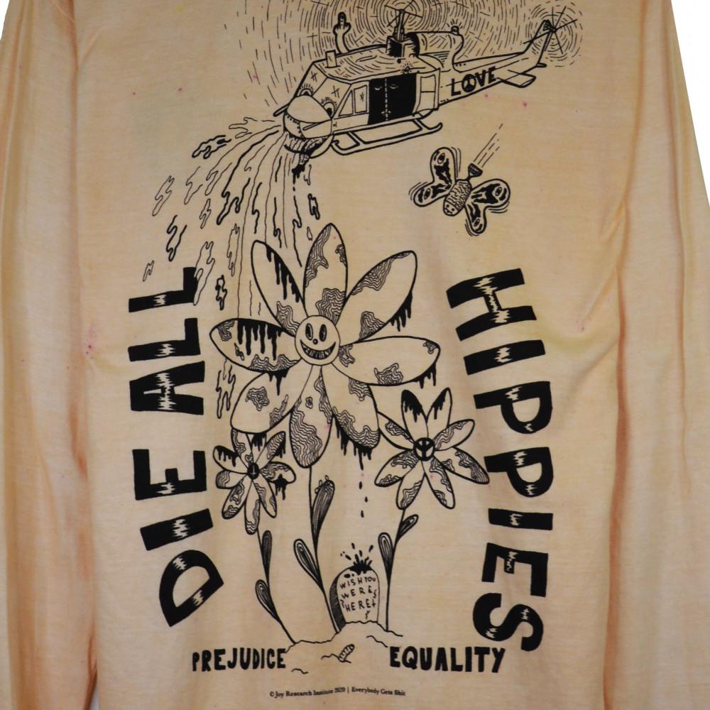 Joy Research Institute Die All Hippies Longsleeve (Light Orange)