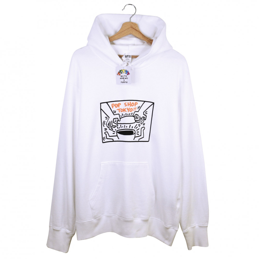 Keith Haring x Uniqlo Tokyo Hoodie (White)