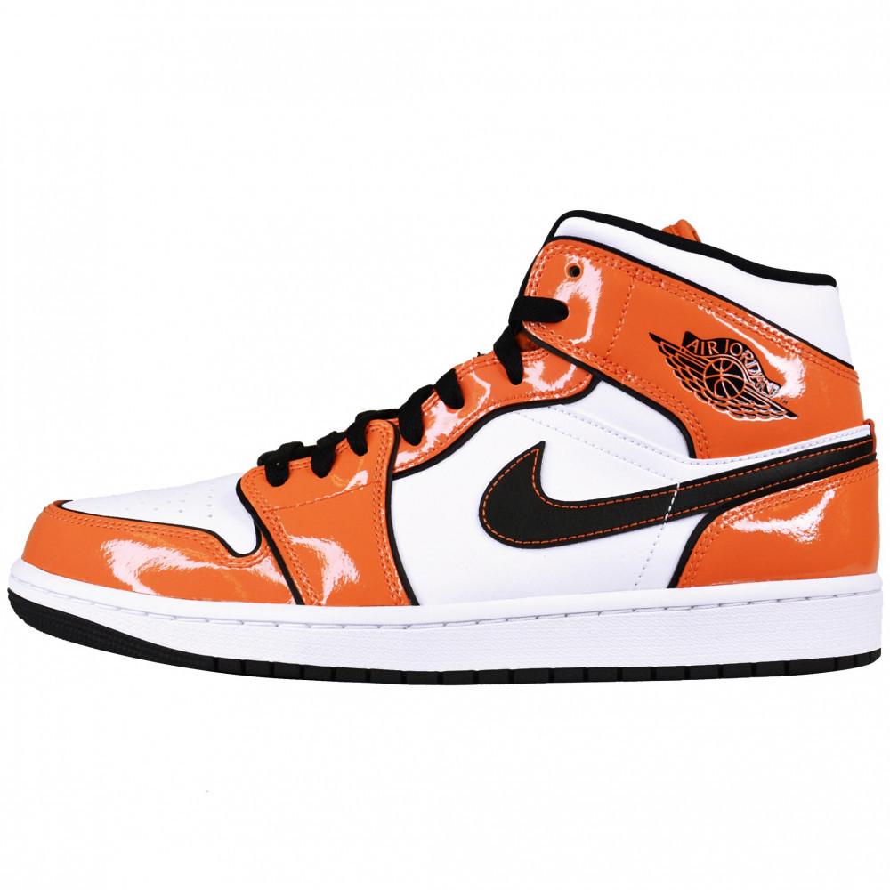 Nike Air Jordan 1 Mid (Turf Orange)