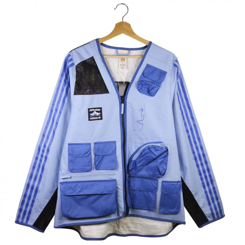 adidas x Fucking Awesome Fishing Jacket (Ash Blue)