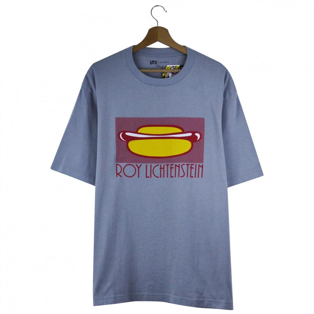 Roy Lichtenstein x Uniqlo Hotdog Tee (Grey)