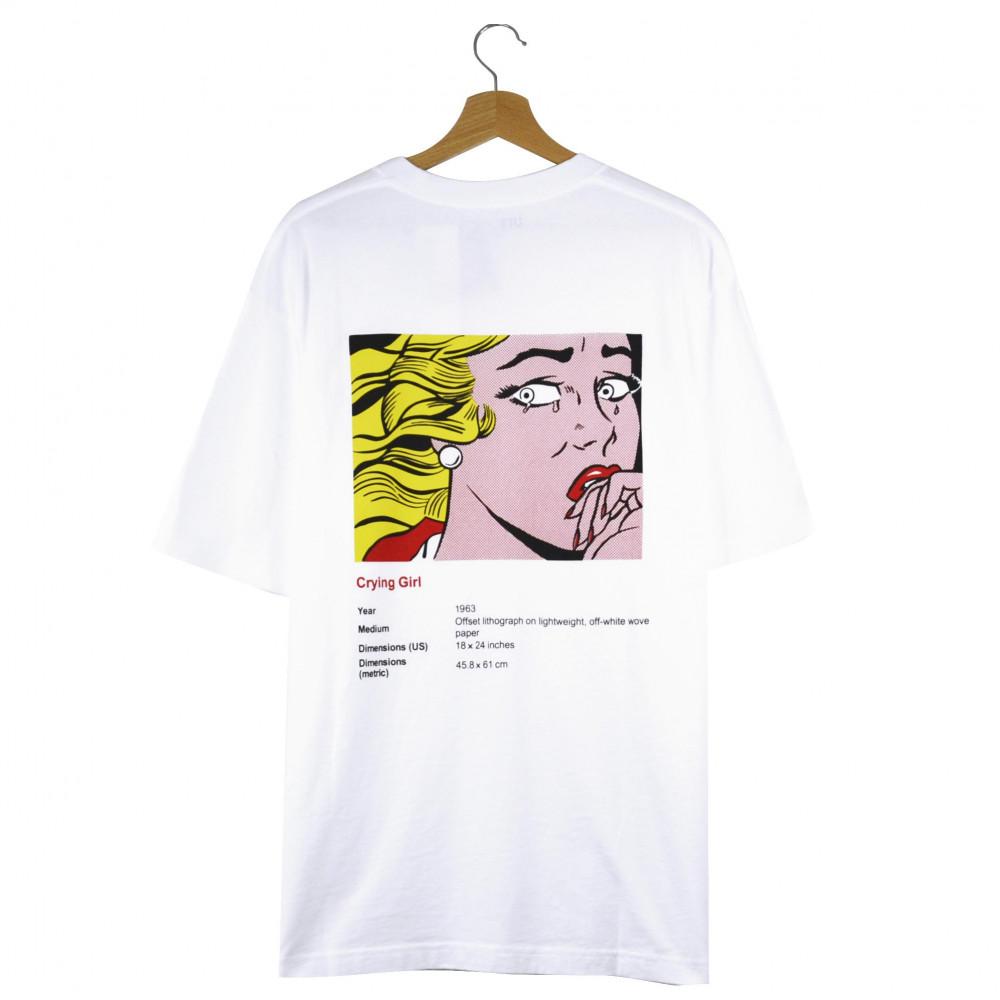 Roy Lichtenstein x Uniqlo Crying Girl Tee (White)
