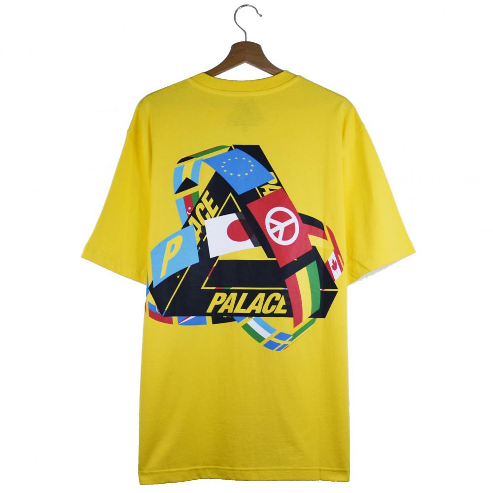 Palace Tri-Flag Tee (Yellow)
