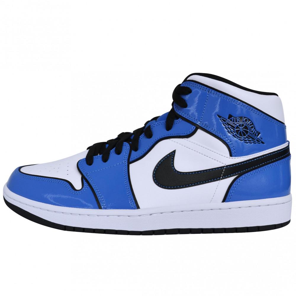 Nike Air Jordan 1 Mid (Signal Blue)