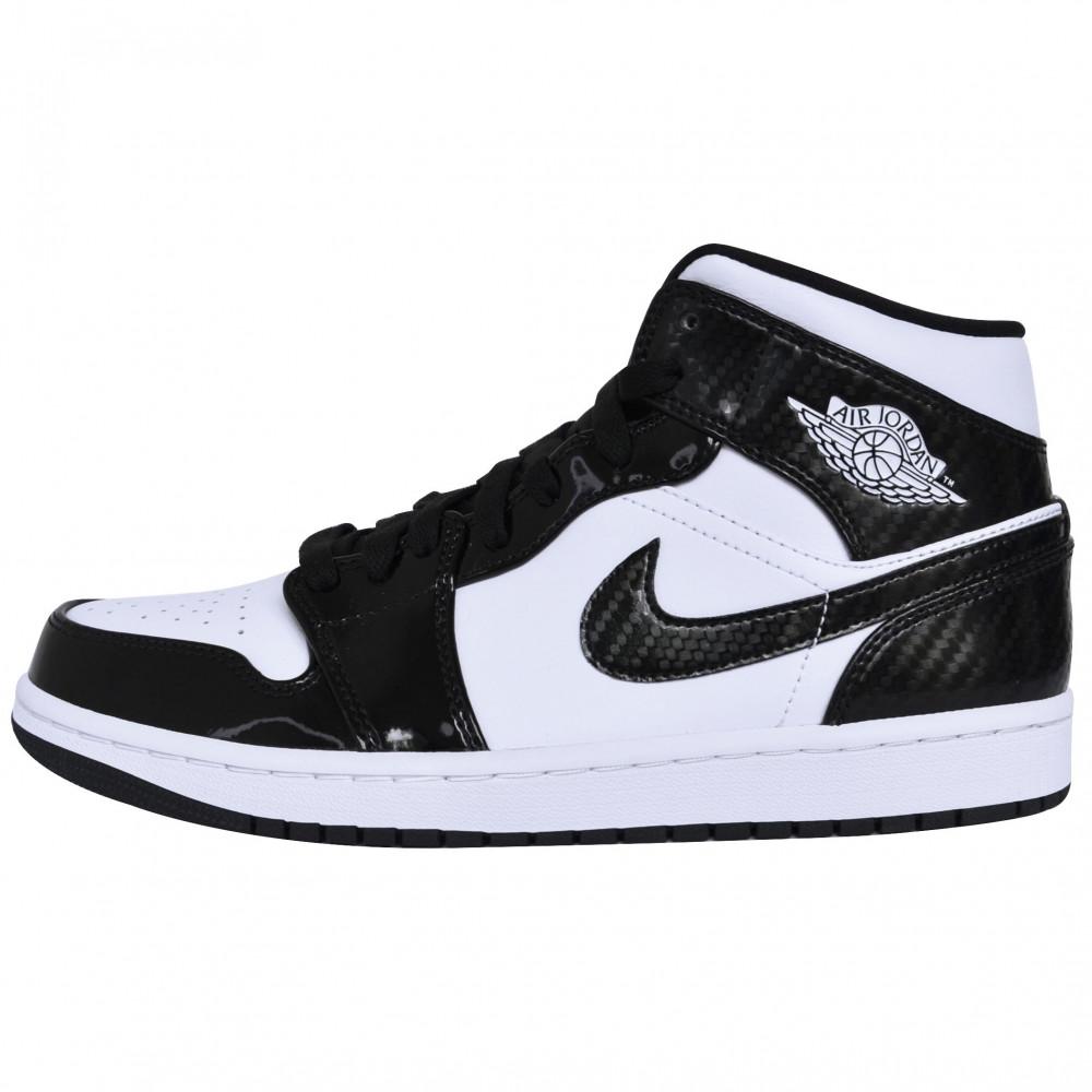 Nike Air Jordan 1 Mid (Carbon)