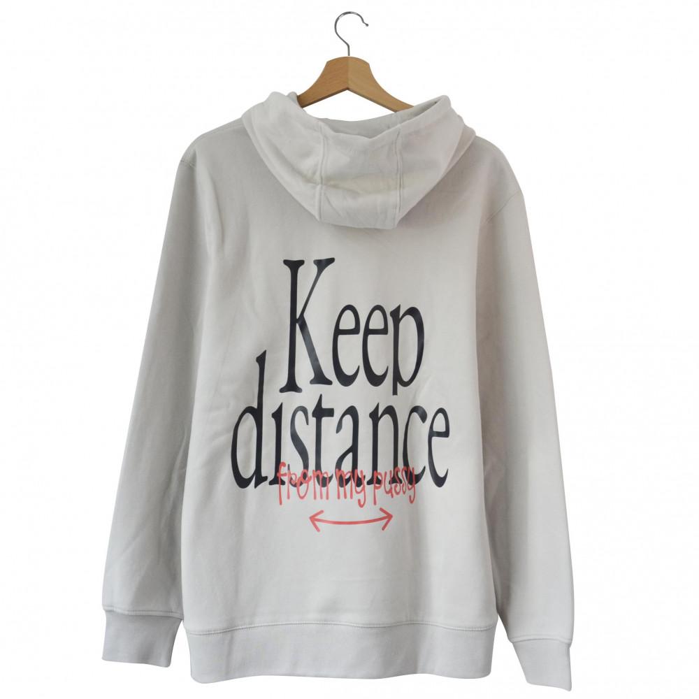 EATPUSSY Keep Distance Hoodie (Grey)