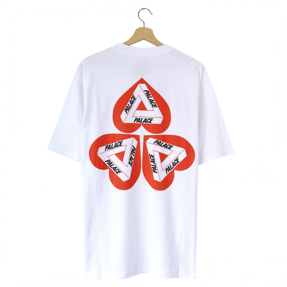 Palace Hearty Tee (White)