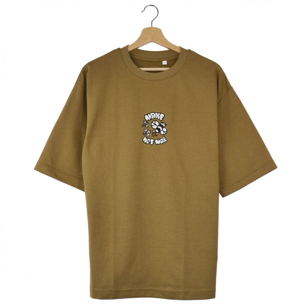 Joy Research Institute Make Bees Oversized Tee (Brown)