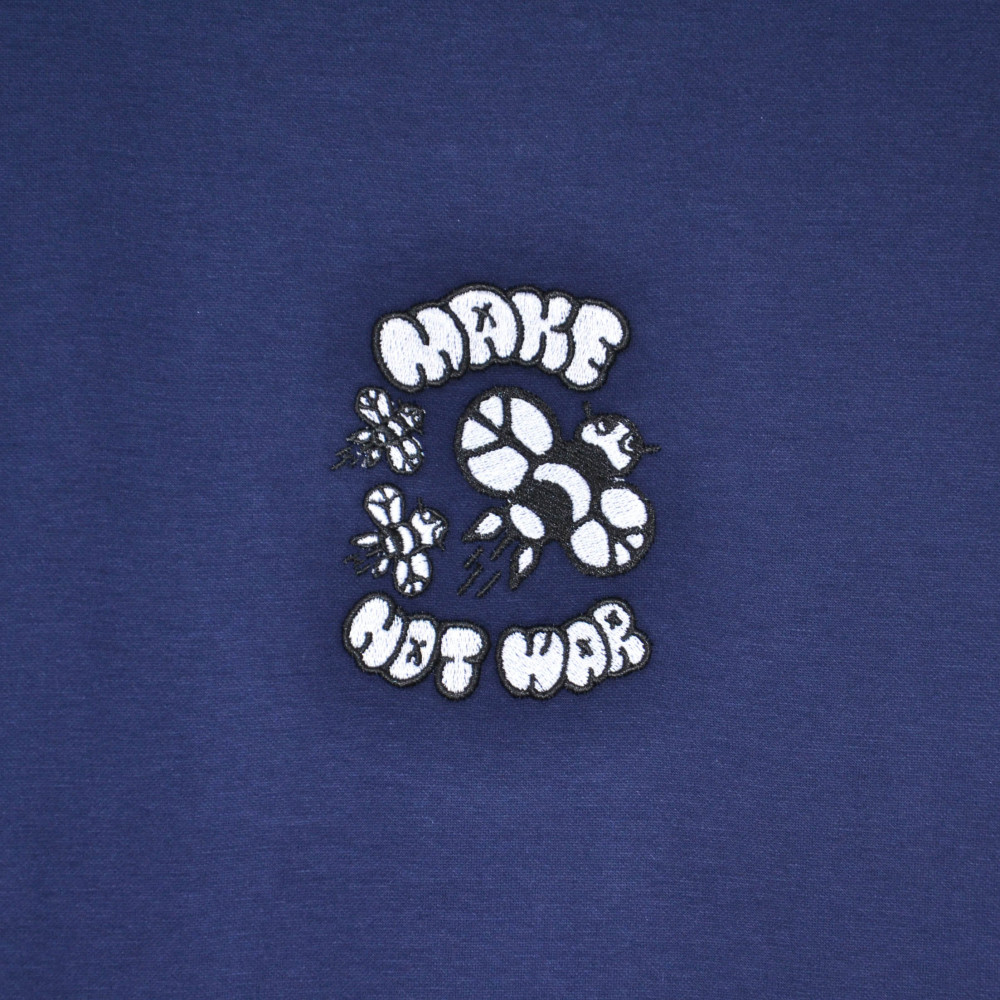 Joy Research Institute Make Bees Oversized Tee (Navy)