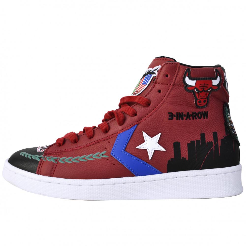Converse x Chinatown Market x NBA Pro Leather (Red)