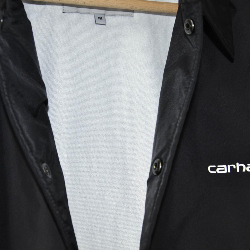 Carthartt Script Coach Jacket (Black)