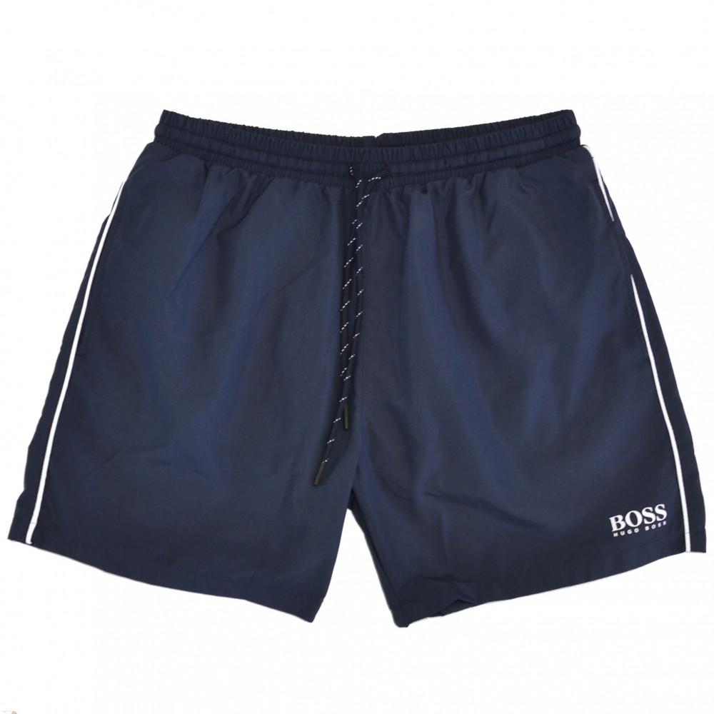Hugo Boss Half Lenghts Swim Shorts (Blue)