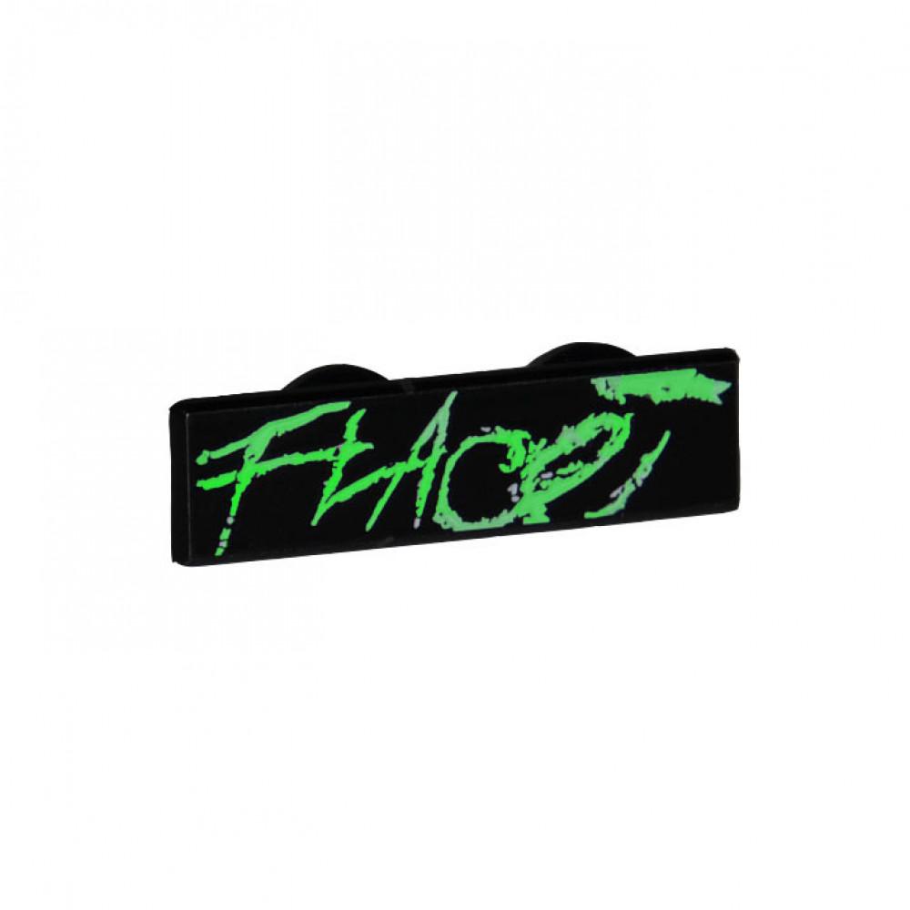 Flace Glow in the Dark Pin (Black)