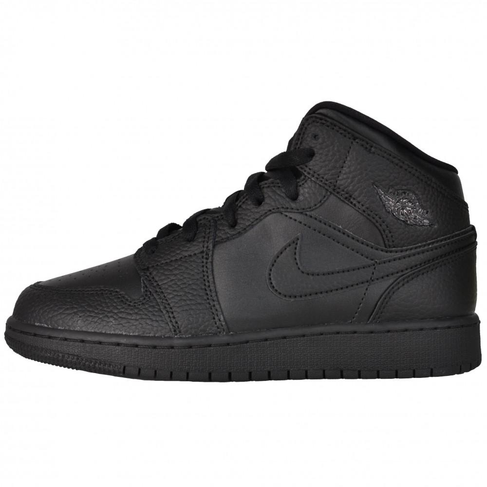Nike Air Jordan 1 Mid (Black)